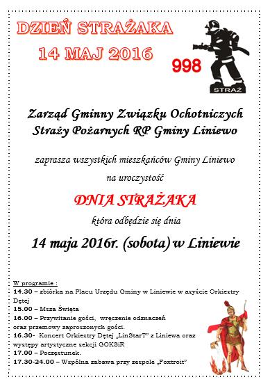 afisz strazacki